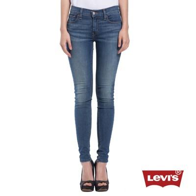 Levis 710 中腰水洗超緊身窄管丹寧牛仔褲